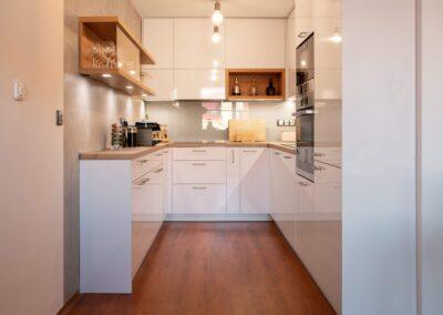 Rekonstrukce bytu a zvětšení kuchyně