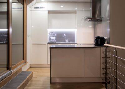 Návrh a přestavba interiéru mezonetového bytu