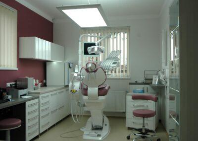 Návrh a výroba interiéru zubních ordinací